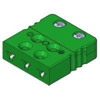 Fmpt K Type K Miniature 3 Pin Thermocouple Plug