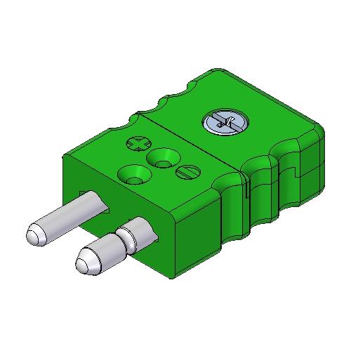 Rsp K Type K Standard Thermocouple Plug Thermosense Direct