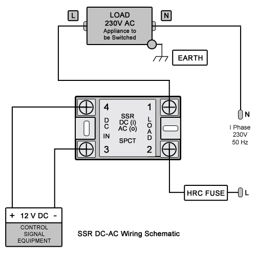 Ssr Dc Ac Wiring on Solid State Relay Switch