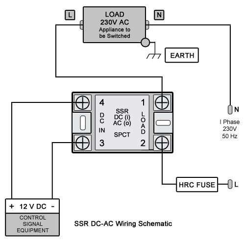 ssr_dc-ac_wiring  Amp Relay Wiring on standard part number, diode 4 prong, 2 pole solid state, bosch 24v, 12v 4 prong, 5 pin 12 vdc, bosch 12v, bitron 12v,